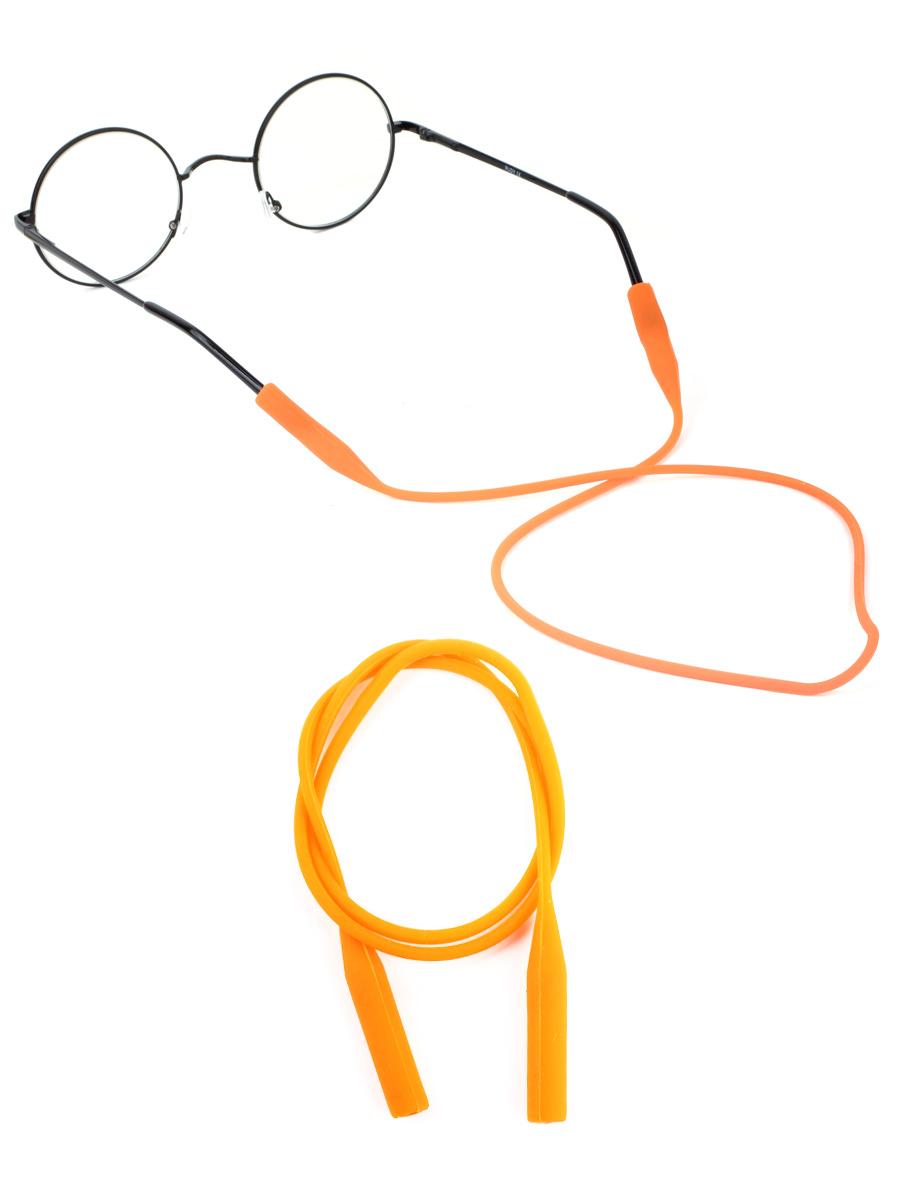 Шнурок силиконовый для очков №1 Оранжевый