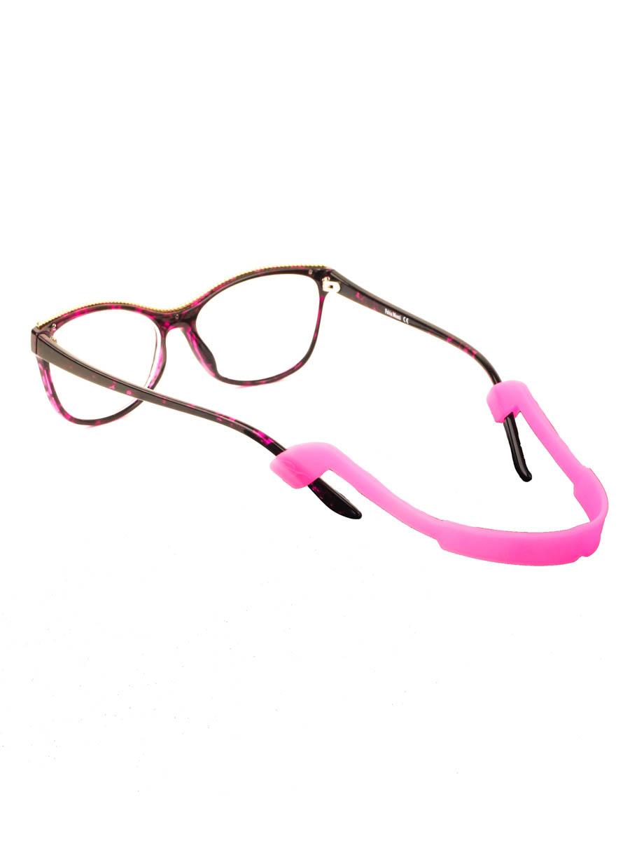 Шнурок силиконовый для очков №4 Темно-розовый
