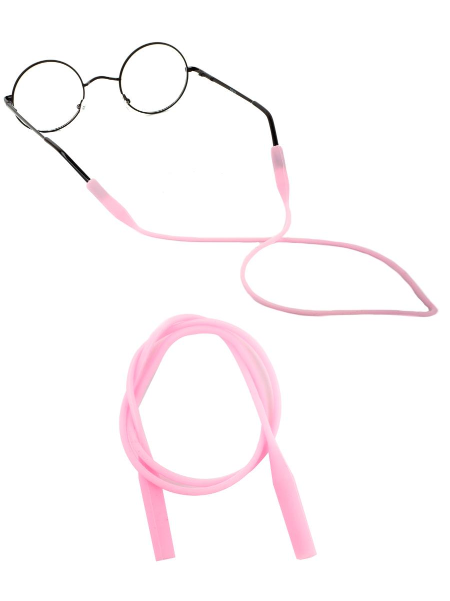Шнурок силиконовый для очков №1 Розовый